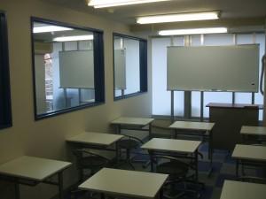 教室内施工後2