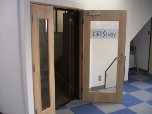 新設の入り口扉