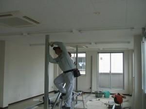 施工中の状態